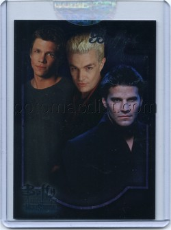 Buffy the Vampire Slayer and the Men of Sunnydale Premium Trading Cards Case Card [#CL-1]