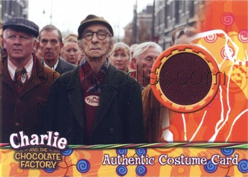 Charlie and the Chocolate Factory Costume Case Card