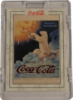 Coca-Cola Series 2 Polar Bear Red Foil Case Topper Card [#PB-1]