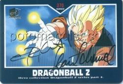 Dragonball Z Original Hero Series 4 Autograph Case Card [Artbox]