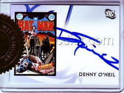 DC Comics: DC Legacy Trading Cards Denny O