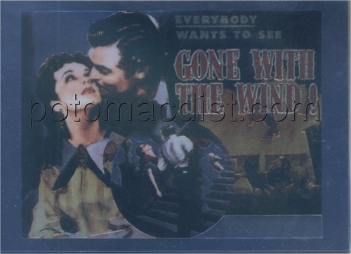 Gone With The Wind Trading Cards Chromium Insert Card Set [#C1-C6]