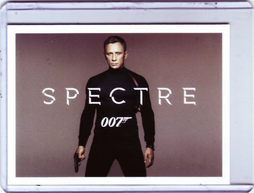 James Bond Archives 2015 Edition Trading Cards Case Topper Card [#CT1]