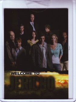 Jericho: Season One Premium Trading Cards Case Topper Card [CL1]