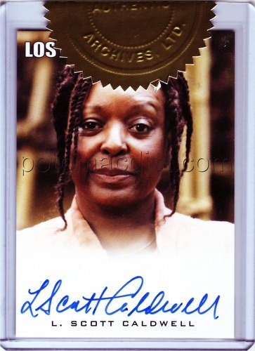 Lost Seasons 1 Thru 5 (1-5) Trading Cards L. Scott Caldwell (Rose Nadler) Autograph Case Topper Card