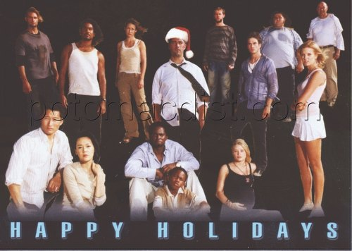 Lost Season Inkworks Holiday Promo Card [H2005]