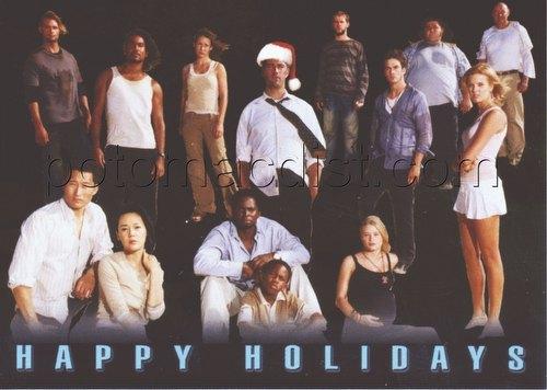 Lost Season Inkworks Holiday Promo Card [H2005]