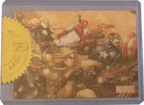 Marvel Universe 2011 Trading Cards Case Card [#CT1 of 3]
