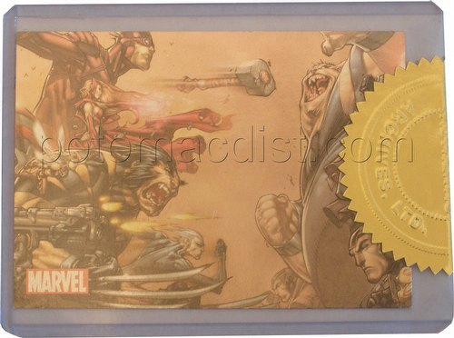 Marvel Universe 2011 Trading Cards Case Card [#CT2 of 3]