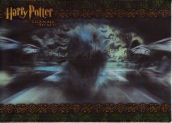 Harry Potter and the Chamber of Secrets Case Topper Motion Card [Basilisk]