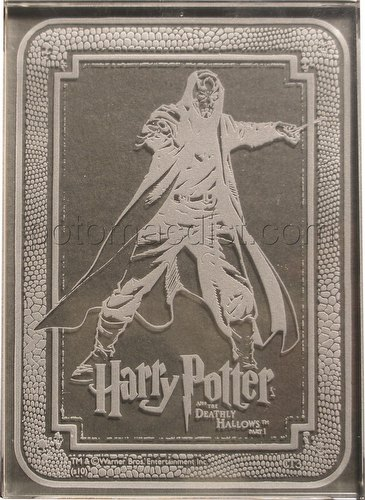 Harry Potter and the Deathly Hallows Part One Trading Cards Death Eater Case Topper Card [#CT3]