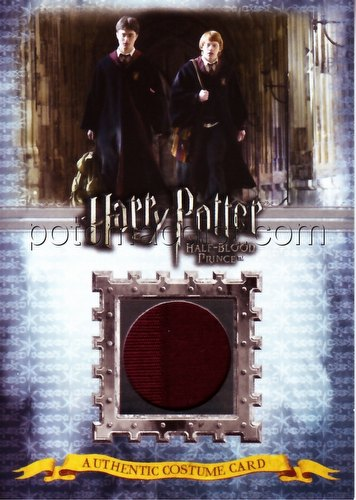 Harry Potter Half-Blood Prince Gryffindor Students Costume 2-Case Incentive Card (381/430) [#ci1]