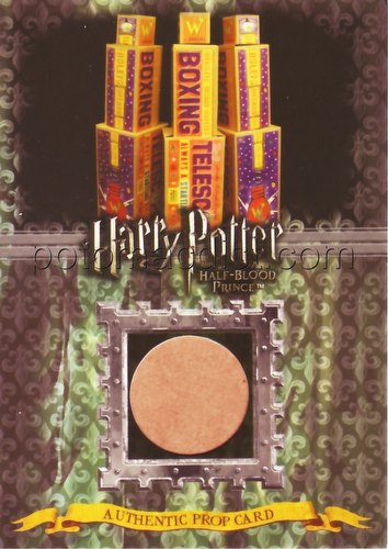 Harry Potter Half-Blood Prince Boxing Telescope Boxes 5-Case Incentive Prop Card (086/220) [#ci2]