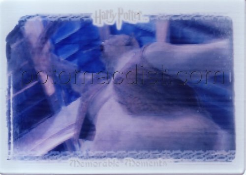 Harry Potter Memorable Moments Quotable Lenticular Troll Case Topper Card
