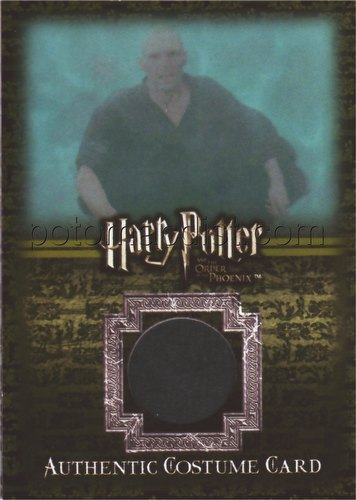 Harry Potter Order of the Phoenix 5-Case Incentive Lord Voldemort Costume Card (#182/200) [#Ci2]
