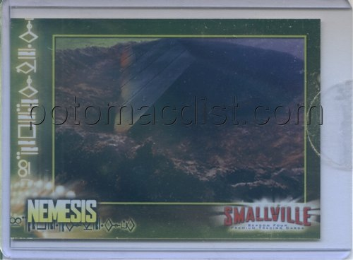 Smallville Season 4 Trading Cards Case Card [Nemesis/#CL-1]