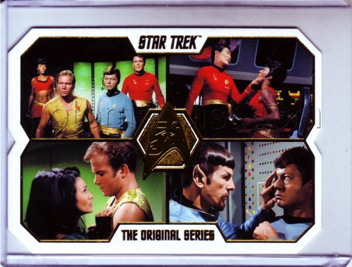 Star Trek: The Original Series 50th Anniversary Trading Cards Case Topper Card [40a]