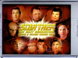 Star Trek: The Next Generation Heroes & Villains Trading Cards Case Topper Card [#CT2]