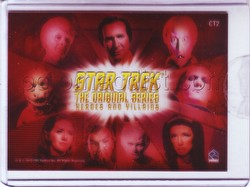 Star Trek: The Original Series Heroes & Villains Villains Montage Case Topper Card [#CT2]