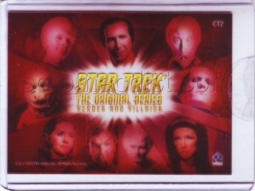 Star Trek: The Original Series Heroes & Villains Villains Montage Case Topper Card [#CT2]
