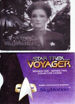 Star Trek Voyager 1 Series 2 Trading Cards Skymotion Card