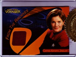 The Quotable Star Trek: Voyager Trading Cards Captain Kathryn Janeway Case Card (489/600)
