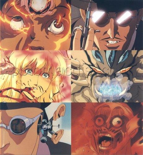 U.S. Manga Corps Case Insert 6-Card Uncut Sheet