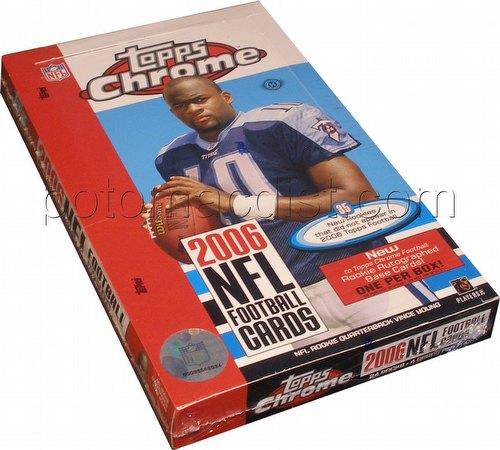 06 2006 Topps Chrome Football Cards Box [Hobby]