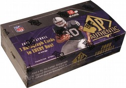 2008 Upper Deck SP Authentic Football Cards Box [Hobby]