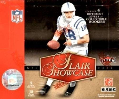 2006 Fleer Flair Showcase Football Cards Box [Hobby]