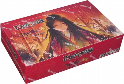1x Force Of Will FoW The Millennia of Ages Booster Pack FREE SHIPPING