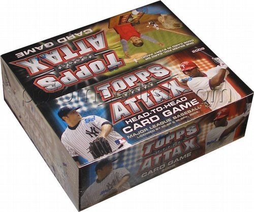 09 2009 Topps Attax Baseball Head-To-Head Card Game Box