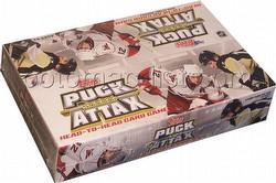09 2009 Topps Puck Attax Hockey Card Booster Box