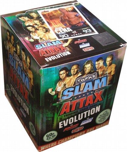 WWE Slam Attax: Evolution Booster Box [UK version]