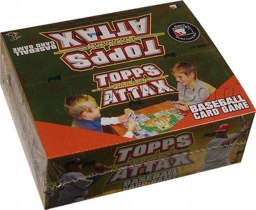 10 2010 Topps Attax Baseball Head-To-Head Card Game Booster Box