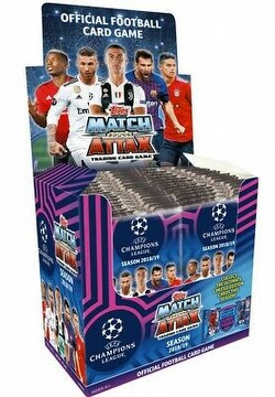 2018/2019 Topps Match Attax Soccer UEFA Champions League Booster Box