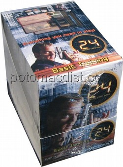 24 Trading Card Game [TCG]: Basic Training 2-Player Starter Deck Box