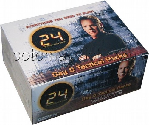 24 Trading Card Game [TCG]: Day 0 Tactical Pack Box