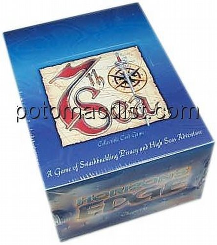 7th Sea Collectible Card Game [CCG]: Horizons Edge Starter Deck Box