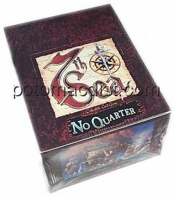7th Sea Collectible Card Game [CCG]: No Quarter Starter Deck Box
