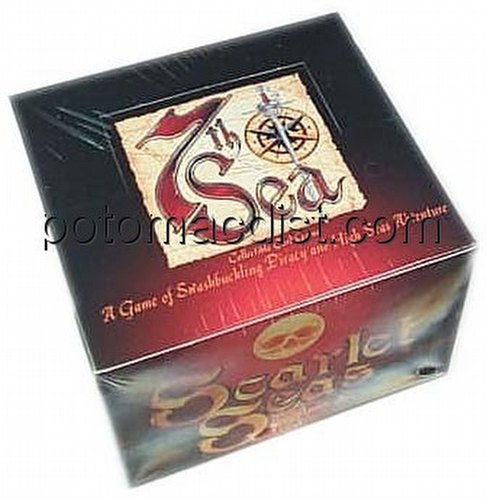 7th Sea Collectible Card Game [CCG]: Scarlet Seas Booster Box
