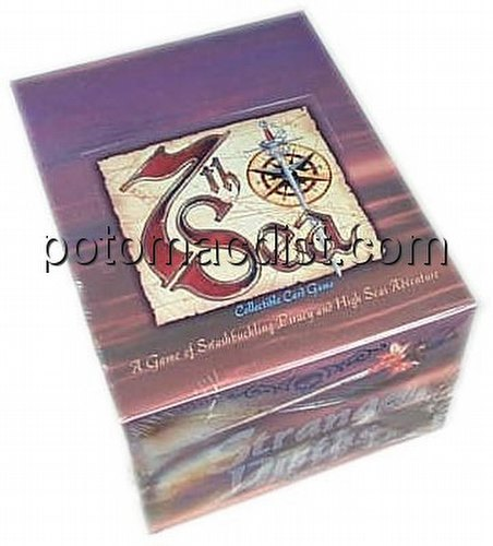 7th Sea Collectible Card Game [CCG]: Strange Vistas Starter Deck Box
