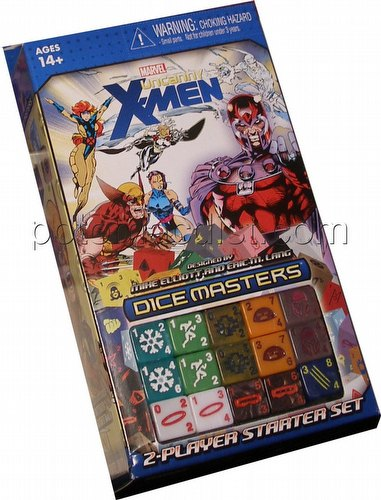 Marvel Dice Masters: The Uncanny X-Men Dice Building Game Starter Set Box