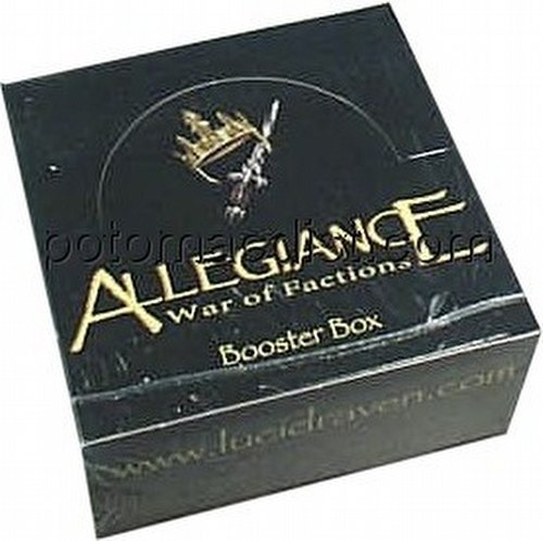 Allegiance: War of Factions Booster Box