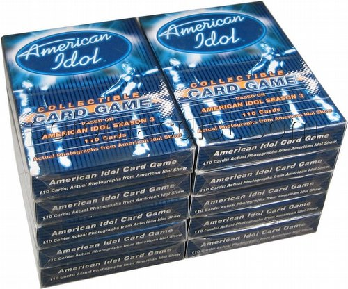 American Idol Collectible Card Game [CCG]: Season 3 Starter Decks [10 Loose Decks]