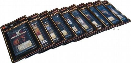 Anachronism: Miscellaneous Warrior Packs [10 Random Packs - No Duplicates]