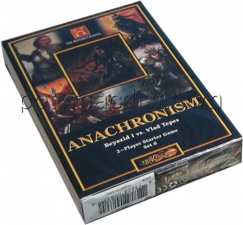 Anachronism: Vlad Tepes Dracula Vs. Beyazid I the Thunderbolt Series 6 Starter Deck