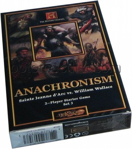 Anachronism: Joan of Arc Vs. William Wallace Series 3 Starter Deck