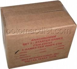 Anachronism: Ramses II Vs. Genghis Khan Series 2 Starter Game Box [4 decks]