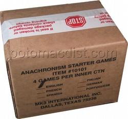 Anachronism: Achilles Vs. Spartacus Series 1 Starter Game Box [4 decks]